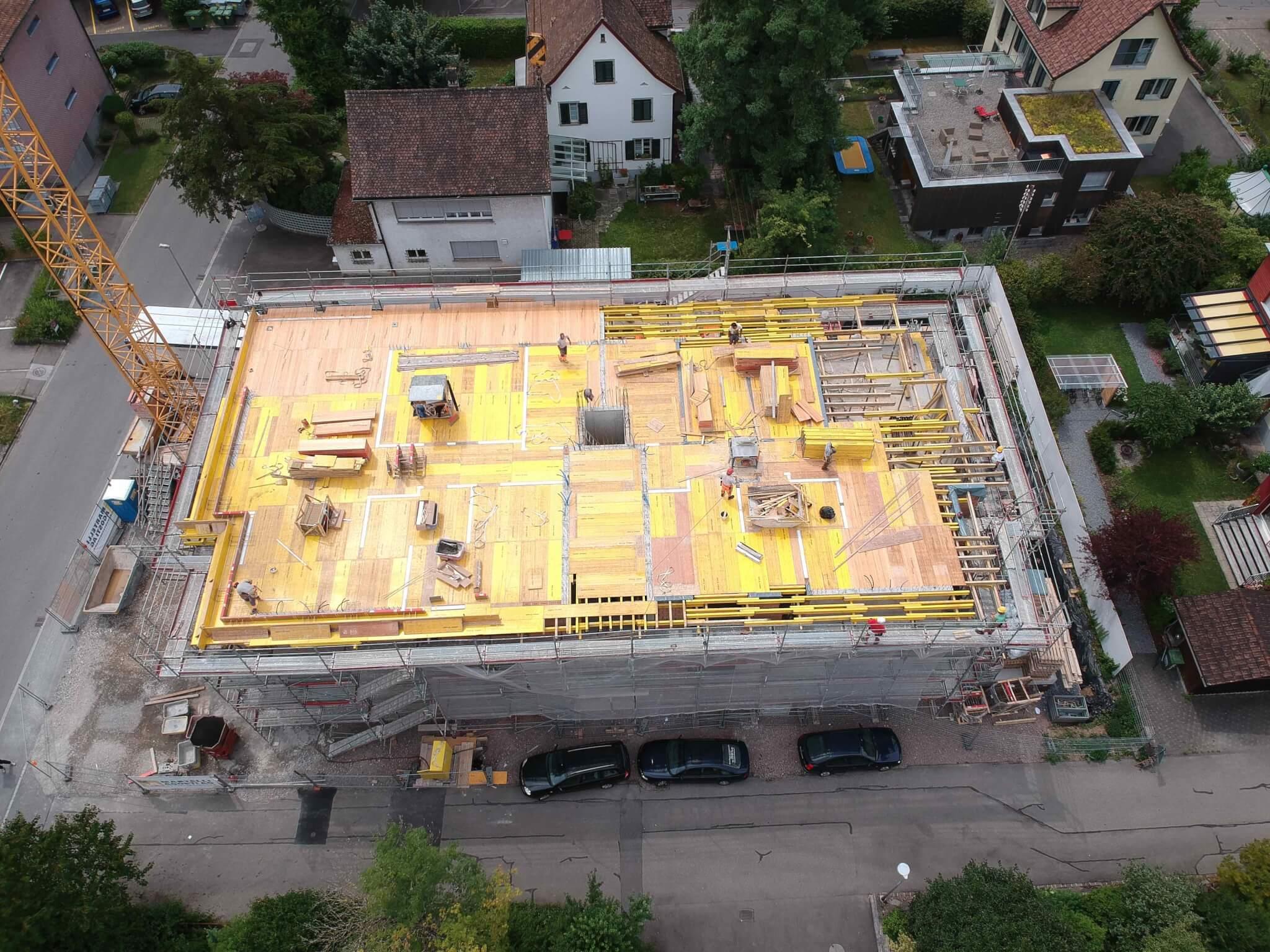 Neubau MFH an der Bachtelstrasse in Rapperswil – Impressionen